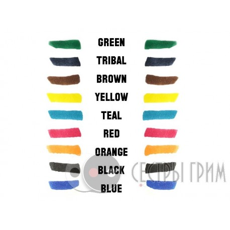 Фломастер цветной для имитации татуировок Tattoo Pen