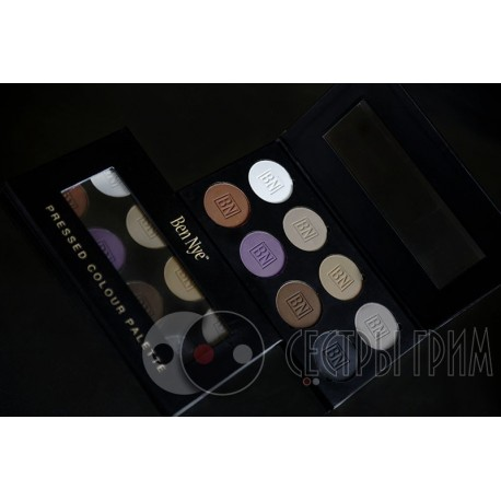 Палитра теней Theatrical Eye Shadow Palette Ben Nye 8 цв.