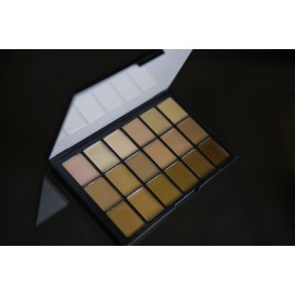 Палитра тонов Diverse Harmony Sheer Foundation HD Palette Ben Nye 18 цв.