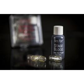 Бутафорская кровь для полости рта в капсулах (набор) Complete Blood Cap Pack Ben Nye