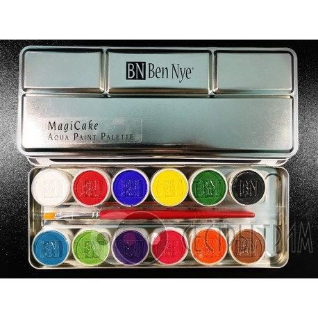 Аквагрим MagiCake Aqua Paint Palette Ben Nye 12 цветов