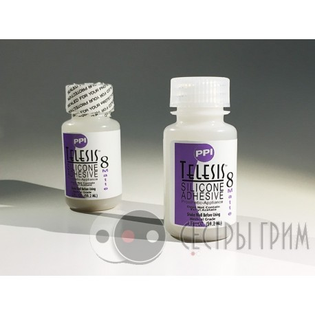 Клей силиконовый матовый Telesis 8 Matte Silicone Adhesive