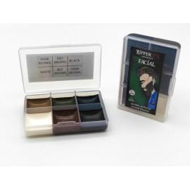 Спирторастворимые краски в малой палитре Facial Pocket
