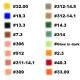 Акриловые краски для аэрогафа AGPC