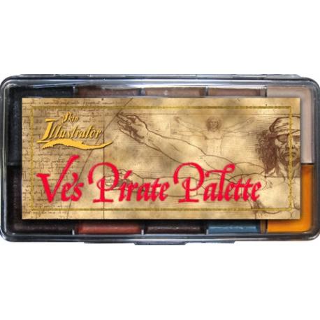 Палитра спирторастворимых красок Ve's Pirate