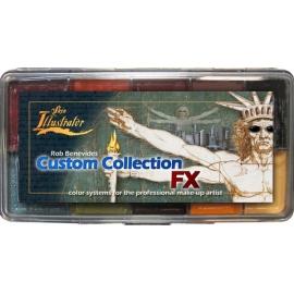 Палитра спирторастворимых красок Custom Collection FX