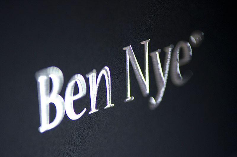 Ben Nye logo close up